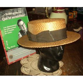 aeabc65e0704c Subastas - Sombreros en Bs.As. G.B.A. Oeste Antiguos en Mercado ...