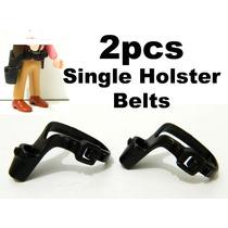 Playmobil - 2 Cinturões Cowboy Cartucheiras; Coldres Oeste