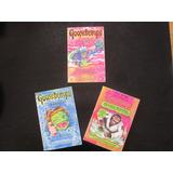 3 Libros En Ingles Goosebumps Scholastic