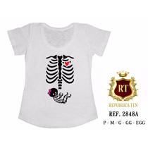 Camiseta Gestante Grávida Mamãe Mãe Personalizada Bata Blusa