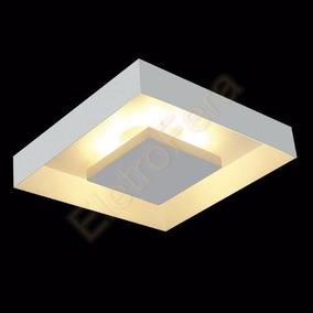 Luminária Plafon Quadrado Luz Indireta Iluminação Decorativa