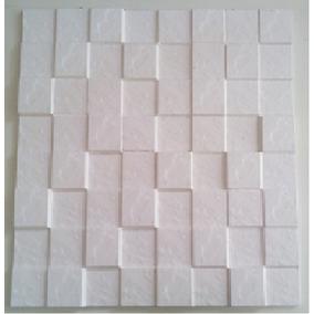 Não É Papel De Parede - Placa De Gesso 3d-mosaico Xadrez