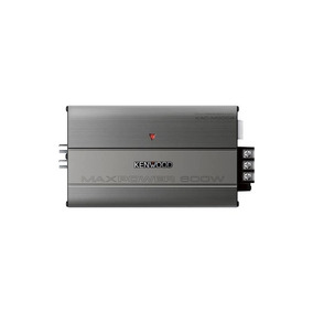 Kenwood - 300w Clase D Puenteable Multicanal Amplificador Mo