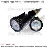 Indicador Medidor De Ph Y Humedad Del Suelo Electrodo Corto
