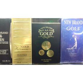 Kit 03 Perfumes New Brand Diferentes Fragancias 100 Ml