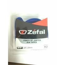 Corbatas Zefal Rin De Bici Mtb De 20mm 29 Azul. Envio Gratis