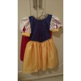 Vestido Da Branca De Neve De Gala - Infantil