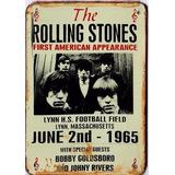 Chapas Retro Impresas Beatles Rolling Películas