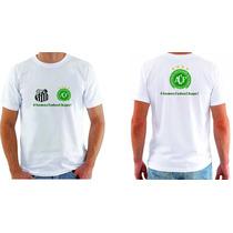 Camisa Personalizada Chapecoense Blusa Camiseta Santos