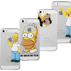 Funda Homero Simpsons Iphone 4 4s 5 5s 5c 6 6s Plus 7 7 Plus