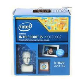 Procesador Intel Core I5 4670 Lga 1150 6m Cache, 3.80 Ghz