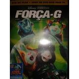 Dvd Força G + Jogo Em Dvd Rom Para Pc