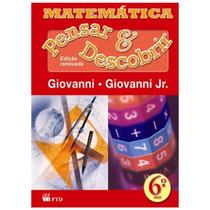 Livro: Matemática - Pensar E Descobrir - 6º Ano - Nova Ediçã