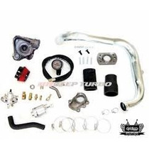 Kit Turbo Corsa Ou Celta Com Flange E Turbina T2