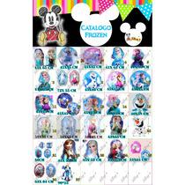 Catalogo De Globos De Frozen Y Frozen Fever Desde 15 Pesos