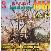 Cd Banda Sinaloense Mm Puras De Lazo Y Reata
