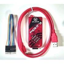 Programador Kit3 Pickit-3 Gravador De Pic