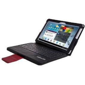 Samsung Galaxy Note 10.1 Caso Portafolio Teclado Bluetooth -
