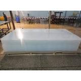 Placa Simil Policarbonato Rigida 1,22x2,44 X 3mm Opal Blanca