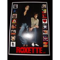 Poster Roxette Cartaz Pop Rock Anos 80 Banda Roxette