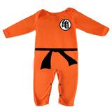 Disfraces Para Bebes - Mameluco De Goku Y Mas...