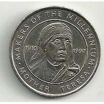 Madre Teresa De Calcuta Token Serie Creadores Del Milenio