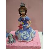 Princesa Sofia En Masa Flexile (3 Piezas)