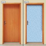 Adesivo Decorativo De Porta - Bolhas De Sabão - 773mlpt