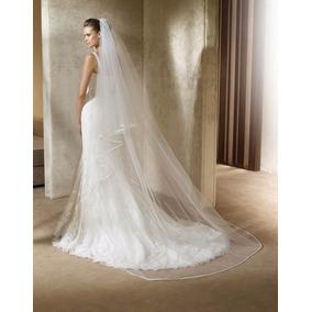 1953d31f39 Hermosos Velos De Novia Vestidos Largos Mujer - Vestidos Blanco en ...