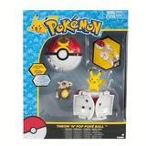 Pokemon Pokebolas Pikachu Atrapa Lanza