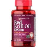 Red Krill Oil Aceite Rojo Omega 3 Con Astaxantina 60 Softgel