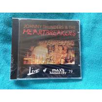 Cd Johnny Thunders & Heartbreakers Live At Maxs 79 Lacrado