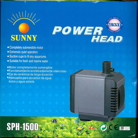 Bomba Sumergible 1200 L/h Sunny Sph-1500