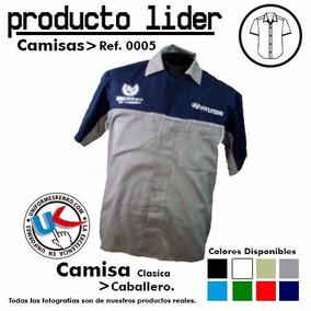 Camisas Uniformes Gratis Un Bordado Frontal Dama/caballero