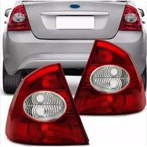 Lanterna Traseira Focus Sedan 09 10 11 A 13 Bicolor Esquerdo