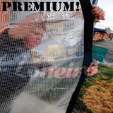Lona Transparente 4x4 De Pvc Vinil Emborrachada Anti-chamas