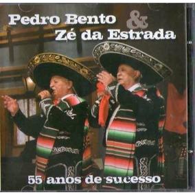 Cd Pedro Bento E Zé Da Estrada - 55 Anos De Sucessos - Lacr