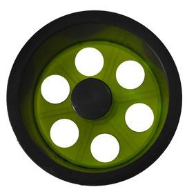 Mini Carretilha De Plástico 15 Cm Para Pipa - Amarelo