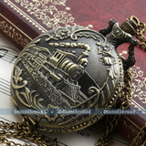 Lindo Reloj Bolsillo Antiguo Ns. Arábigos Cadena - Cuarzo