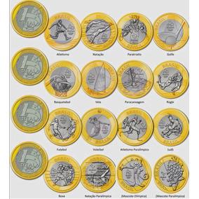 Moedas Olimpiadas Novas Avulsas Coleção Jogos Olimpicos