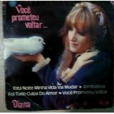Compacto Vinil Diana - Você Prometeu Voltar - 1975 - Polydor