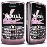Blackberry Nextel I8350 Color Rosada Lila Fuxia Nueva Ver#5