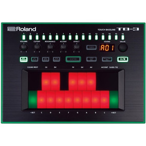 Sintetizador Aira Contra Baixo Roland Tb-3 Touch Bass Tb 3