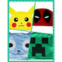 *toucas Animes* Pokémon Pikachu Happy Crepper Naruto