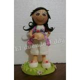 Muñeca Fofucha Embarazada