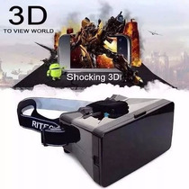 Óculos Vr Box 2.0 Realidade Virtual 3d Android Ios Windows