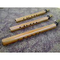 Sax Alto De Bambú Completo Com Boquilha Abraçadeira Palheta