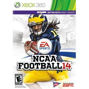 Juego Ncaa Football 14 Usado Para Xbox 360 Blakhelmet C Sp