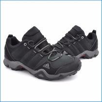 Zapatillas Adidas Brushwood Cuero Nobuck En Caja Oferta Ndph