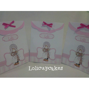 Souvenirs Bolsitas Sara Kay, Candy Bar Stickers Etiquetas